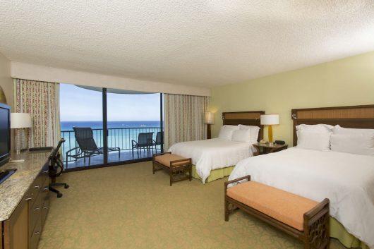 ワイキキビーチマリオット リゾート&スパ客室