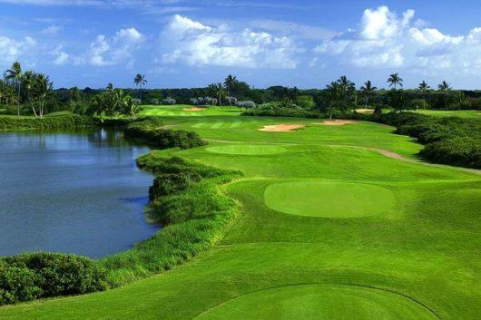 解放的な気分でゴルフも最高