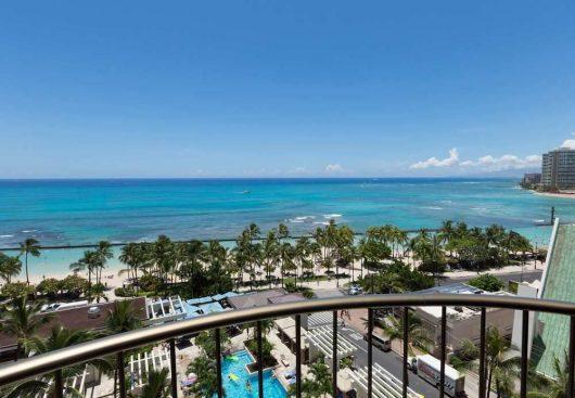 ワイキキビーチマリオット リゾート&スパ客室風景