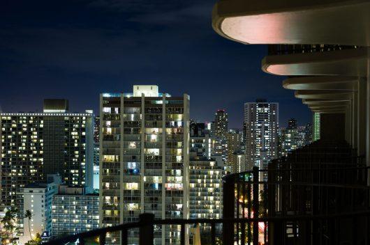 シティビューの夜景も綺麗です