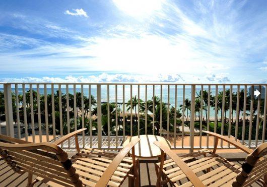 (改装前)空も海も風もハワイを感じるラナイ
